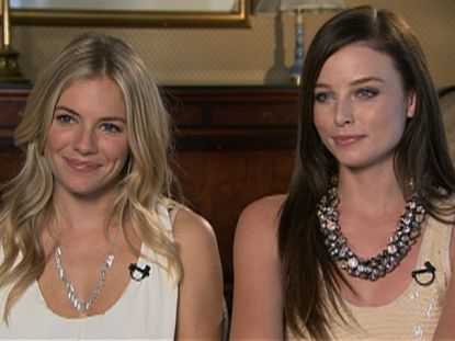 Sienna Miller & Rachel Nichols Talk 'G.I. Joe: The Rise Of Cobra'